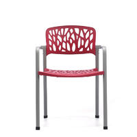 1003E-32(red) plastic office chairs