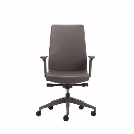 1504C-2P15-A leather task chair