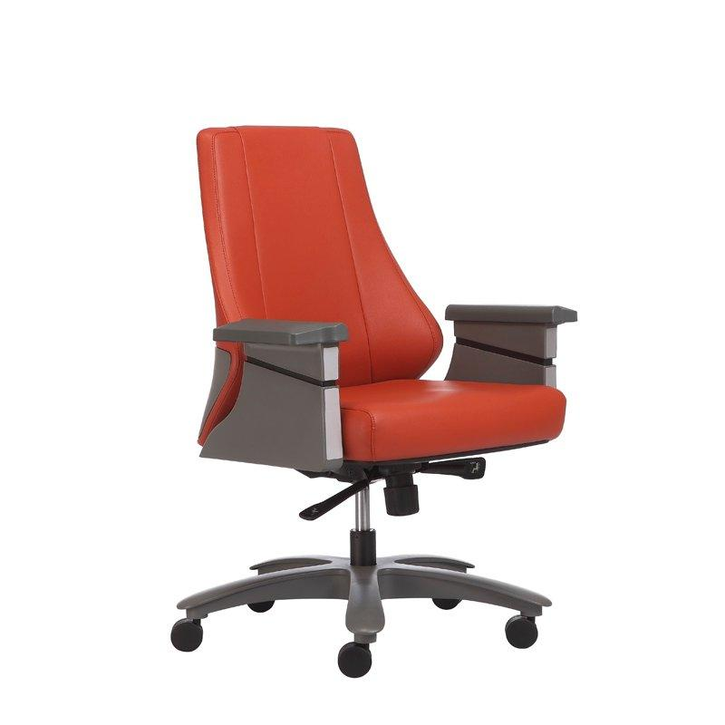 1503C-2P21-A ergonomic leather chair