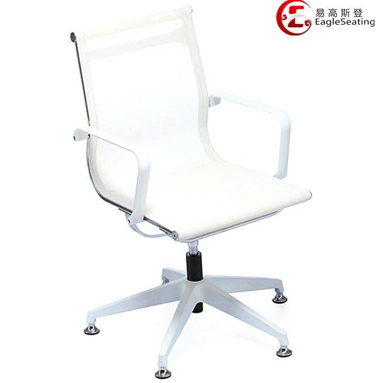 0517D-1T white visitor chair